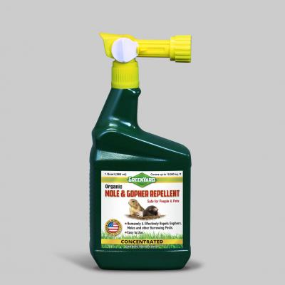 GreenYard™ Organic Mole & Gopher Repellent Concentrate